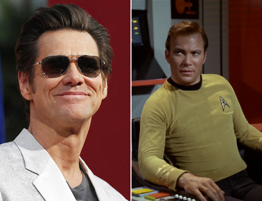 1 Jim Carrey as Kirk