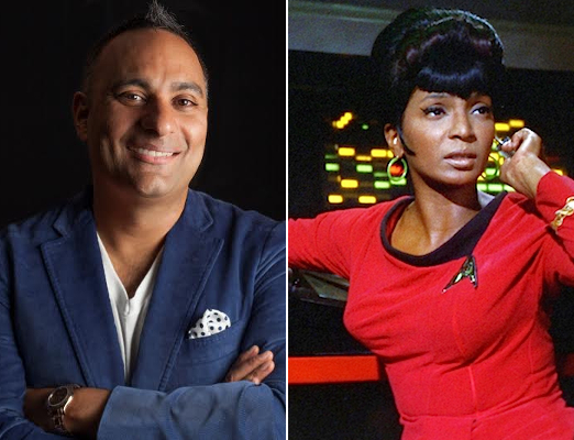 5 Russell Peters as Uhura