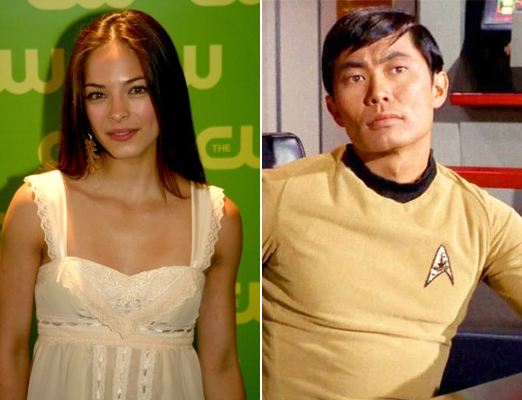 6 Kristen Kreuk as Sulu