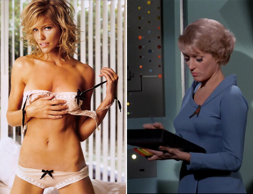 7 Tricia Helfer as Chapel