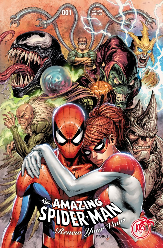 Amazing Spider Man Renew Your Vows 1 Tyler Kirkham KRS Comics Variant