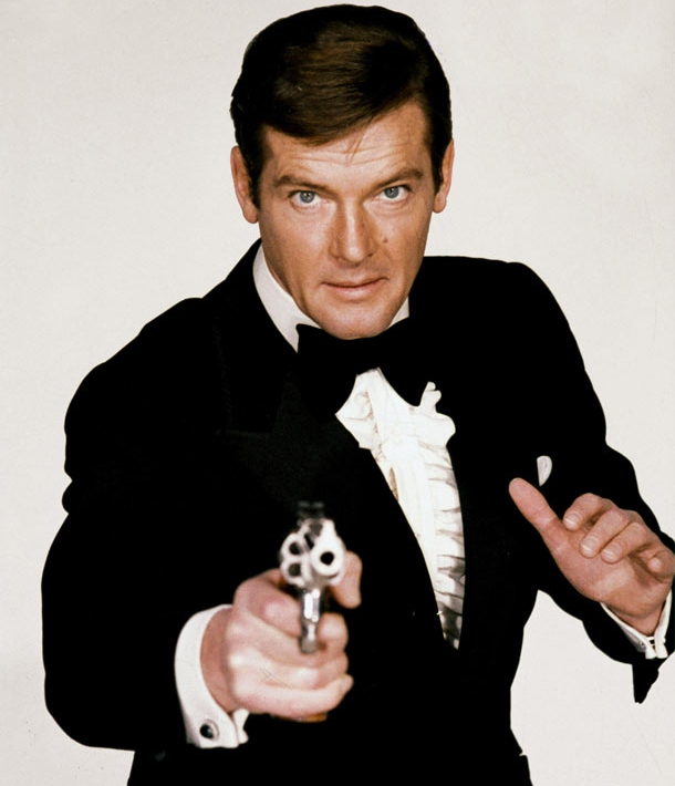 Bond Roger Moore Profile