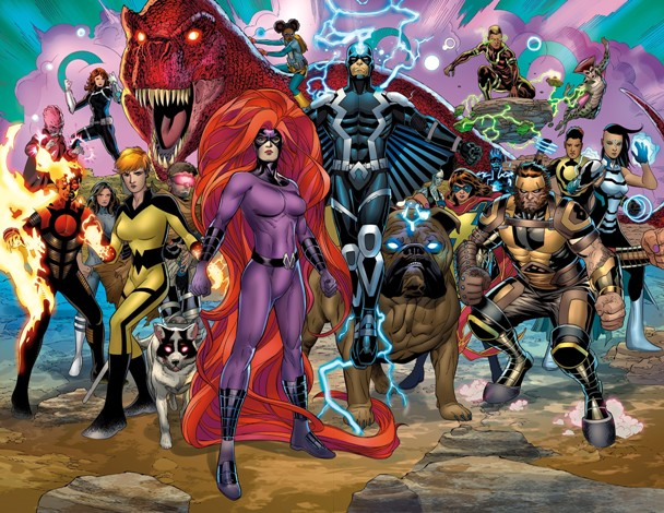 Inhumans Prime 1 Preview 2