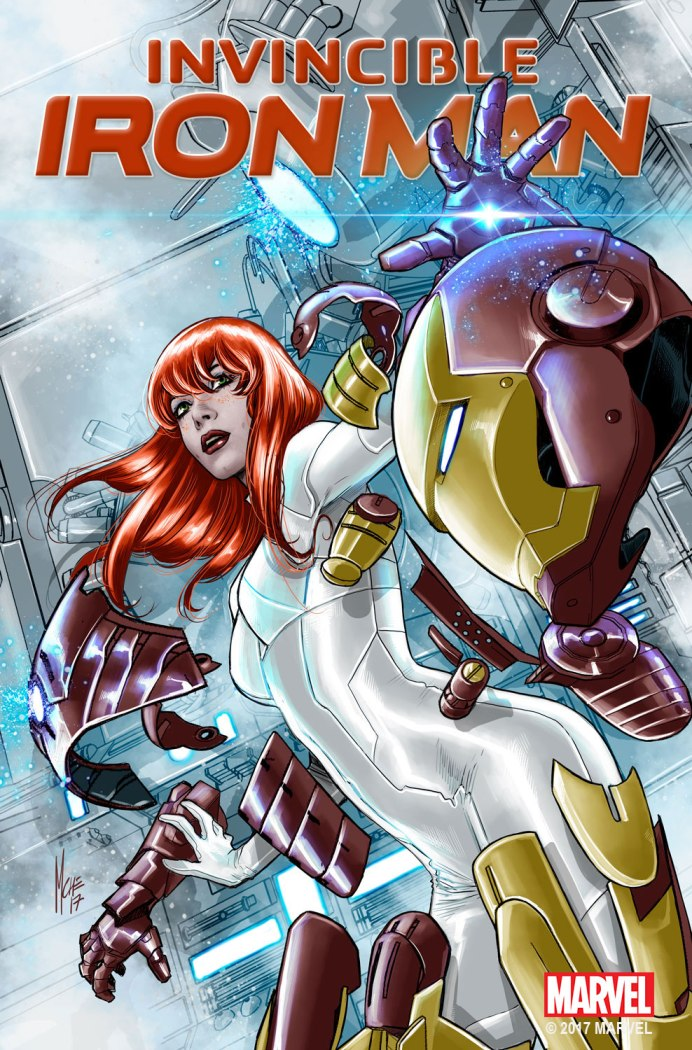 Invincible Iron Man MJ Variant