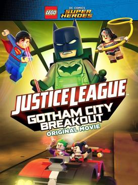 Lego DC Comics Super Heroes Justice League Gotham City Breakout