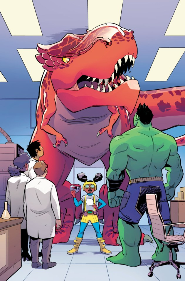 Moon Girl and Devil Dinosaur 13 Preview 2