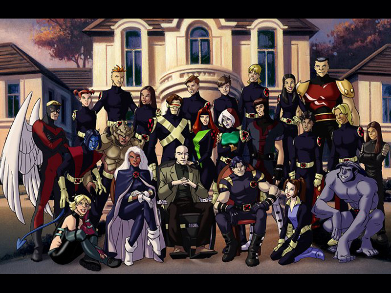 X Men Evolution Graduation