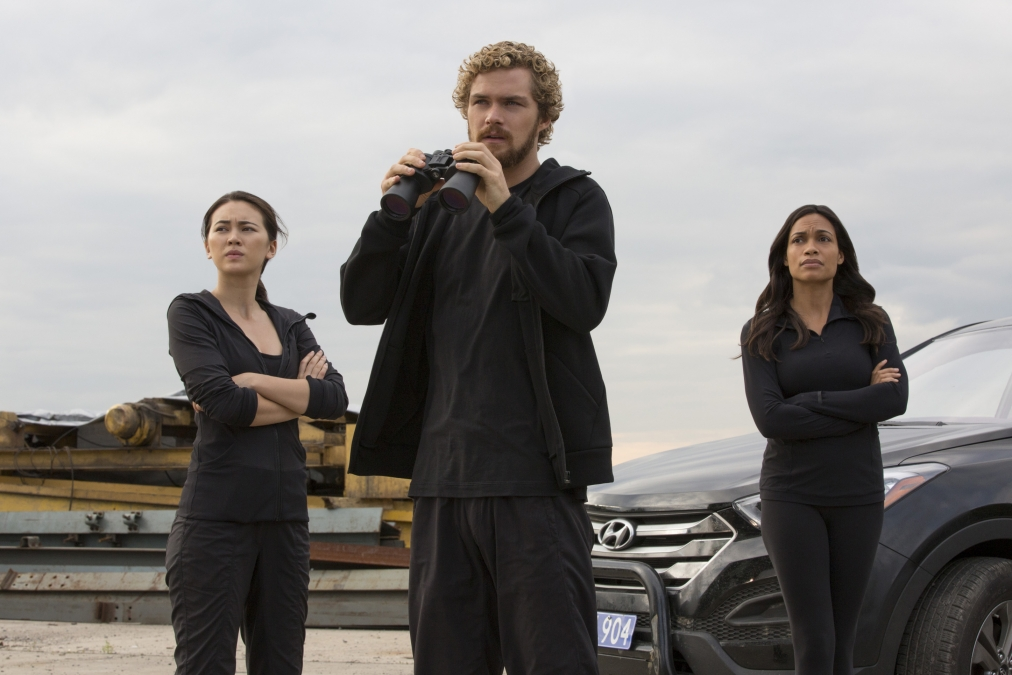 marvel iron fist netflix colleen wing rosario dawson