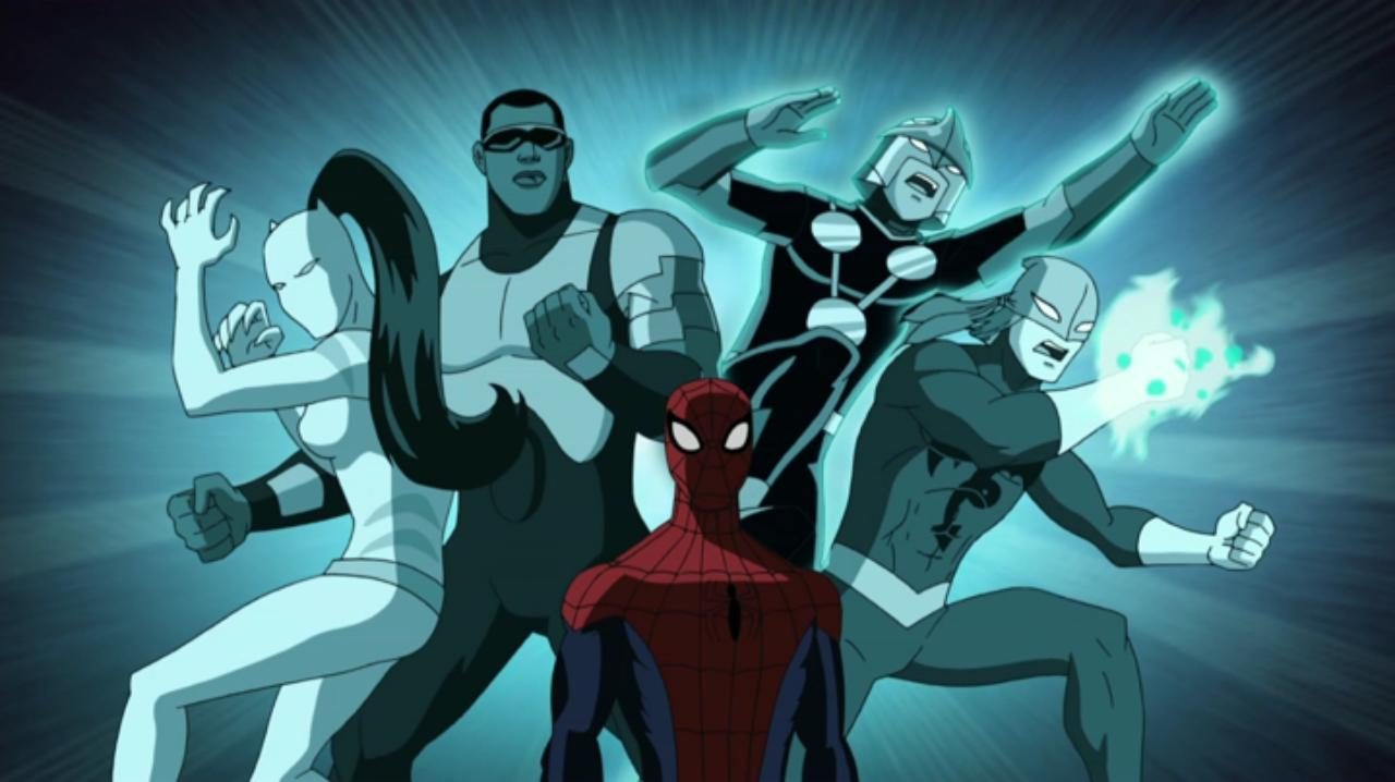 ultimate spider man animated series season 1 2 screenshot