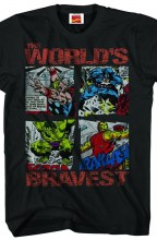 Marvel Heroes  - Migthy Box T-Shirt MED