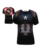 Captain America - Civil War  - Cap Da Frap T-Shirt LRG