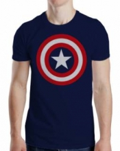 Captain America  - 80s Captain T-Shirt XL