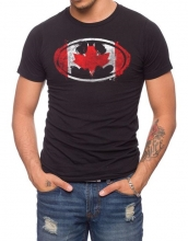 Batman  - Canadian Flag T-Shirt LRG