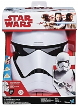Star Wars  - E8 - First Order Stormtrooper Mask Costume Accessory