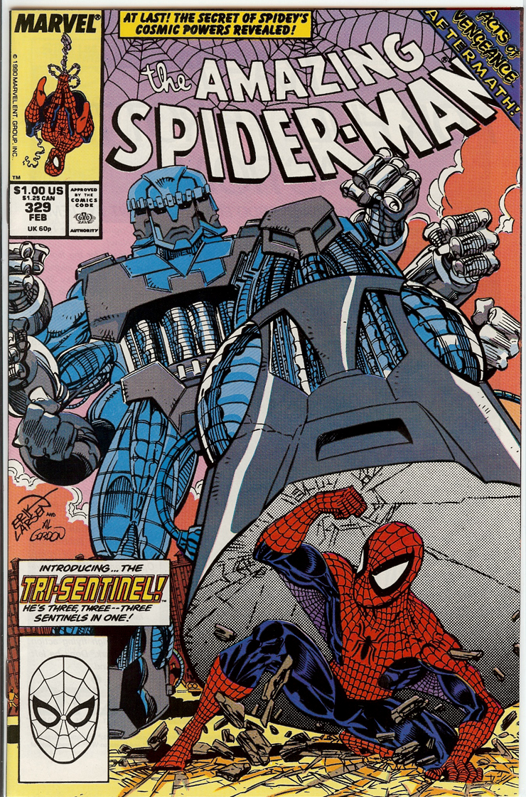Amazing Spider-Man  #329 Copper Age Back Issue