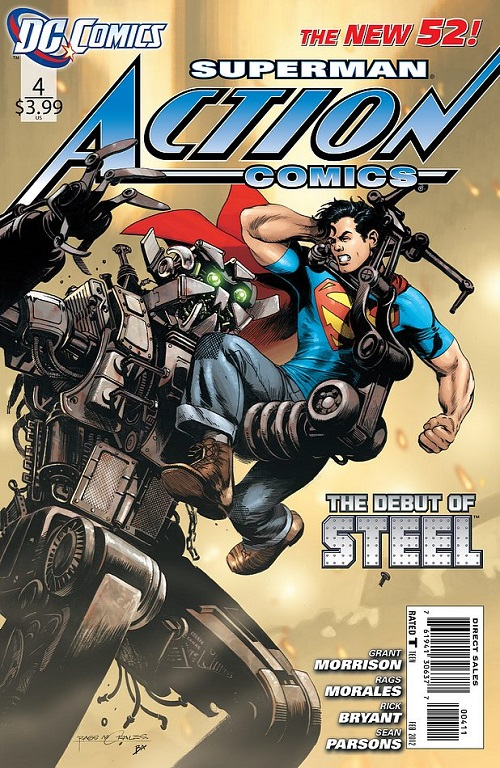 Action Comics (Vol. 2)  #4 Modern Age