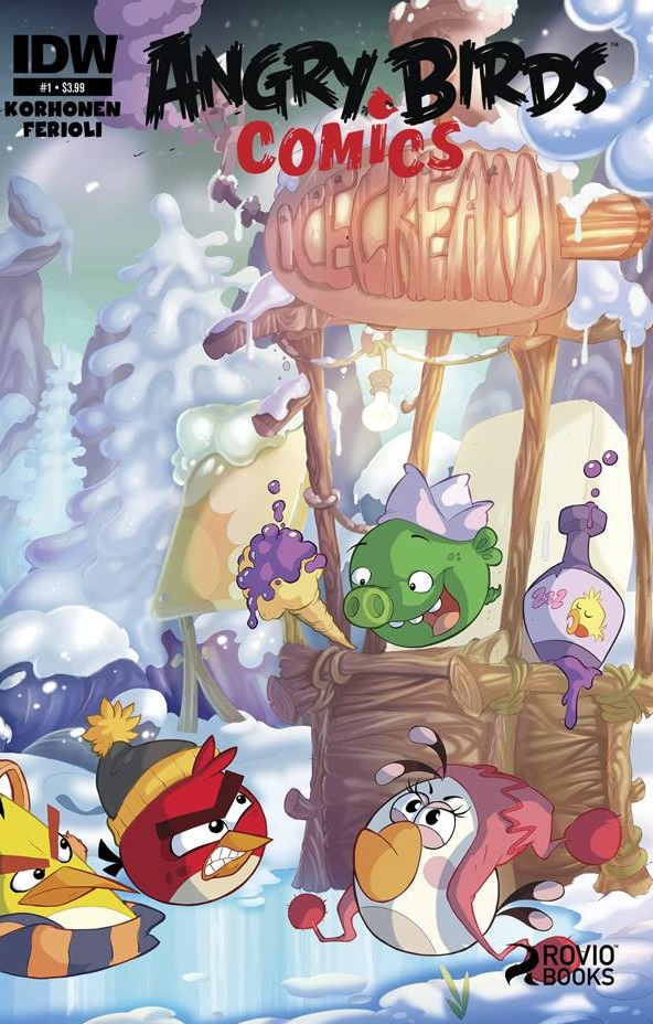 Angry Birds Comics (Vol. 2)  #1