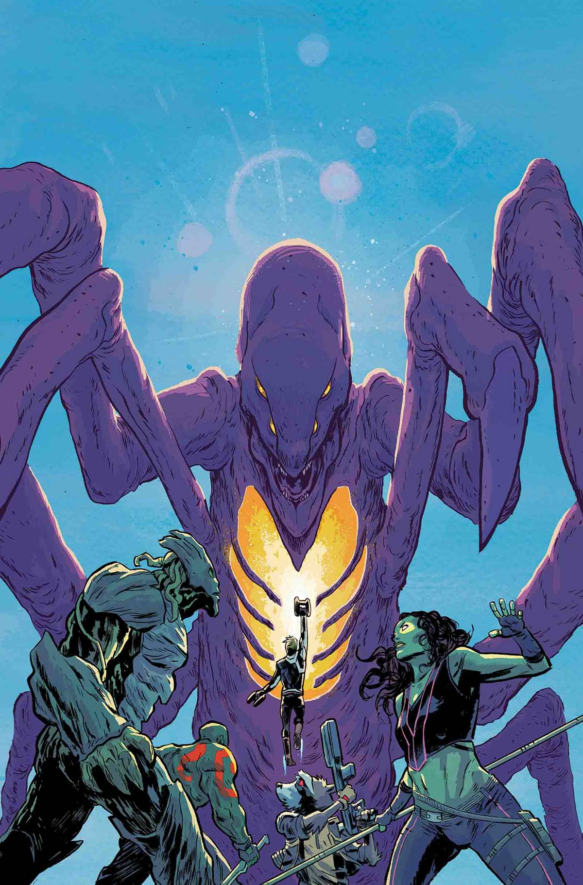 Guardians of the Galaxy (Vol. 4)  #1 Monsters Unleashed