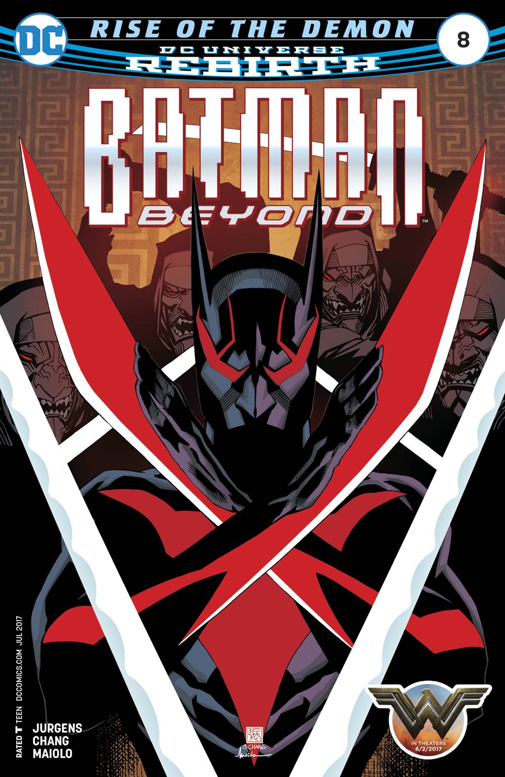 Batman Beyond (Vol. 8)  #8