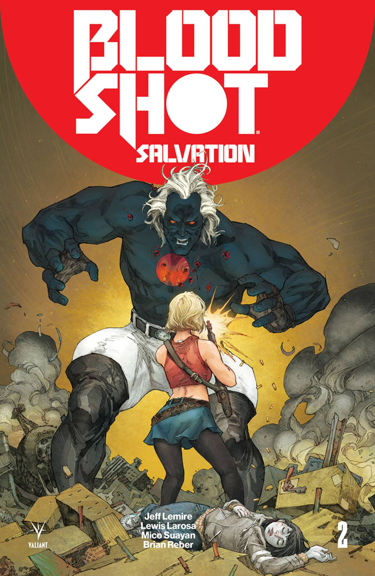 Bloodshot - Salvation  #2 Cover A