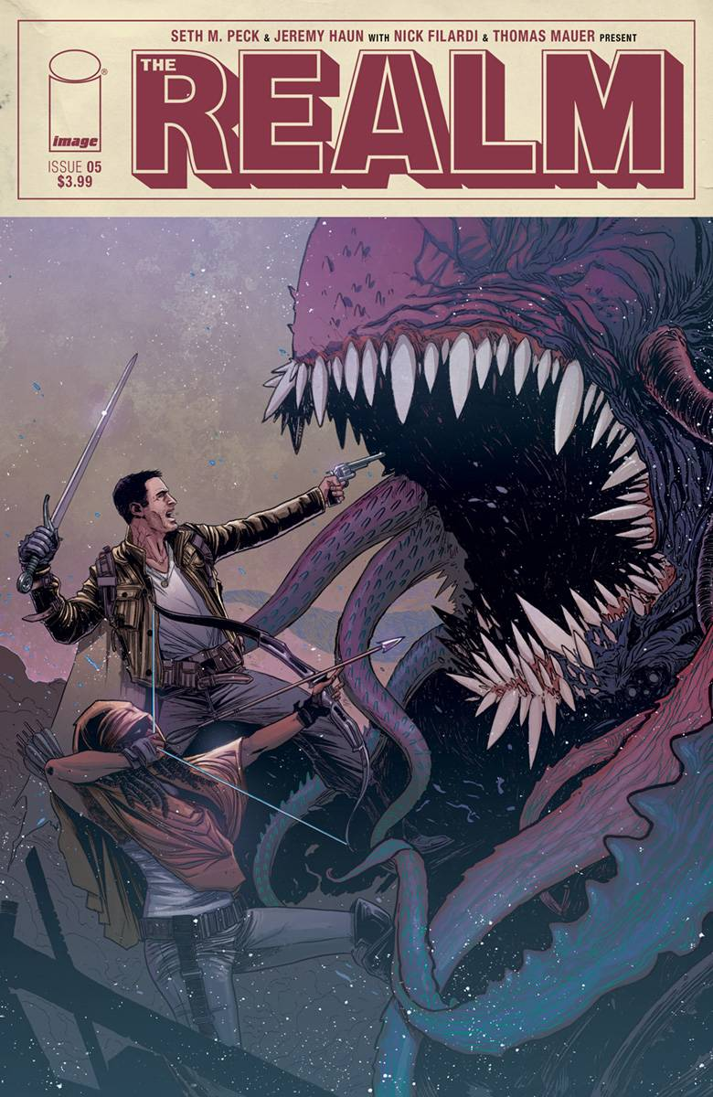 Realm  #5 Cover A