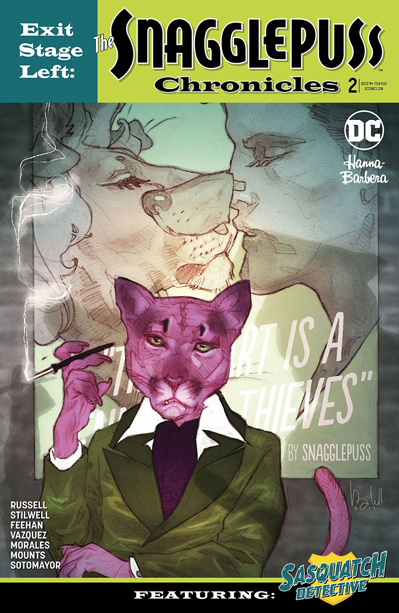Exit Stage Left - Snagglepuss Chronicles  #2