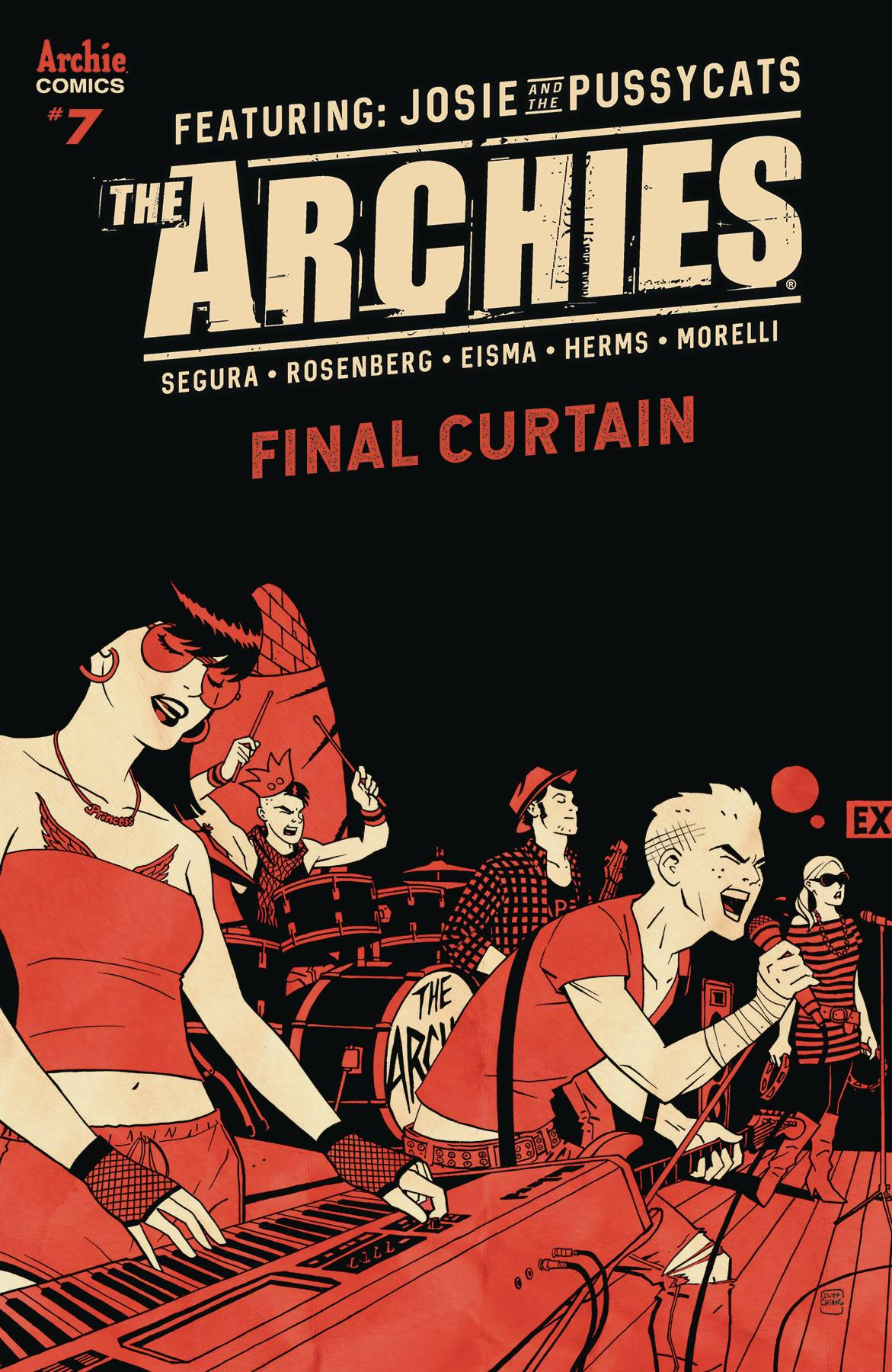 Archies  #7 Cover B