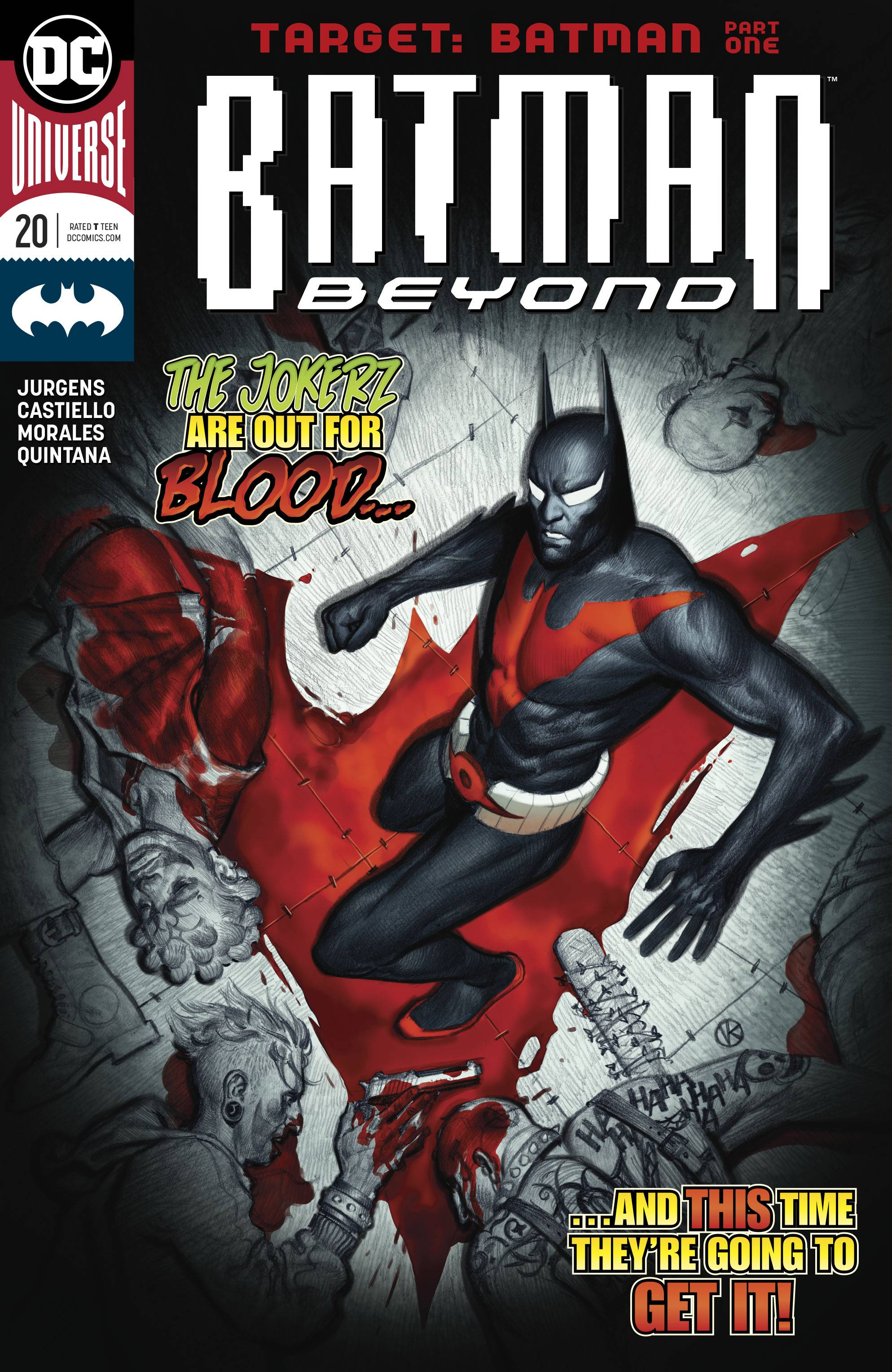 Batman Beyond (Vol. 8)  #20