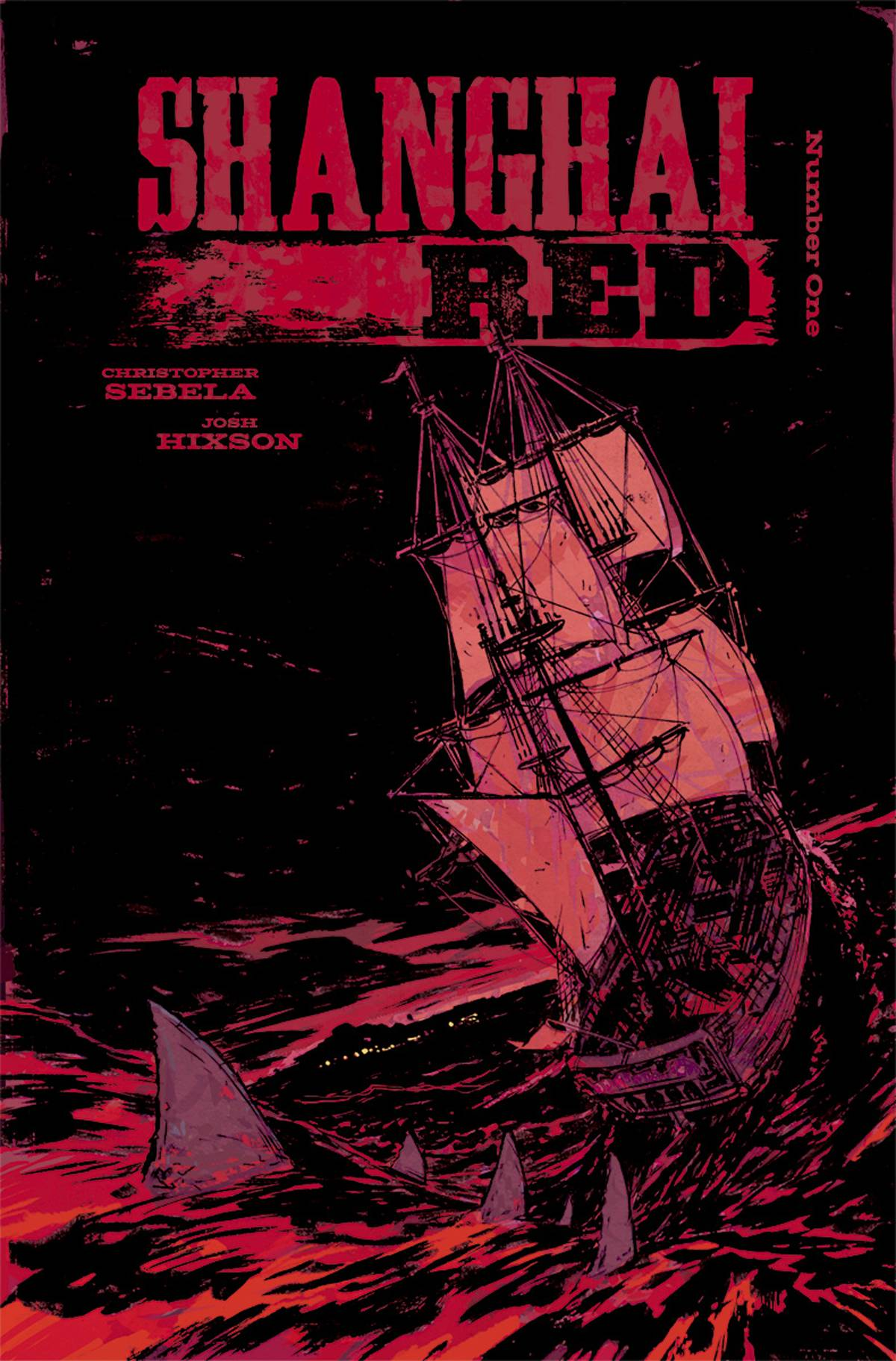 Shanghai Red  #1 Cover A