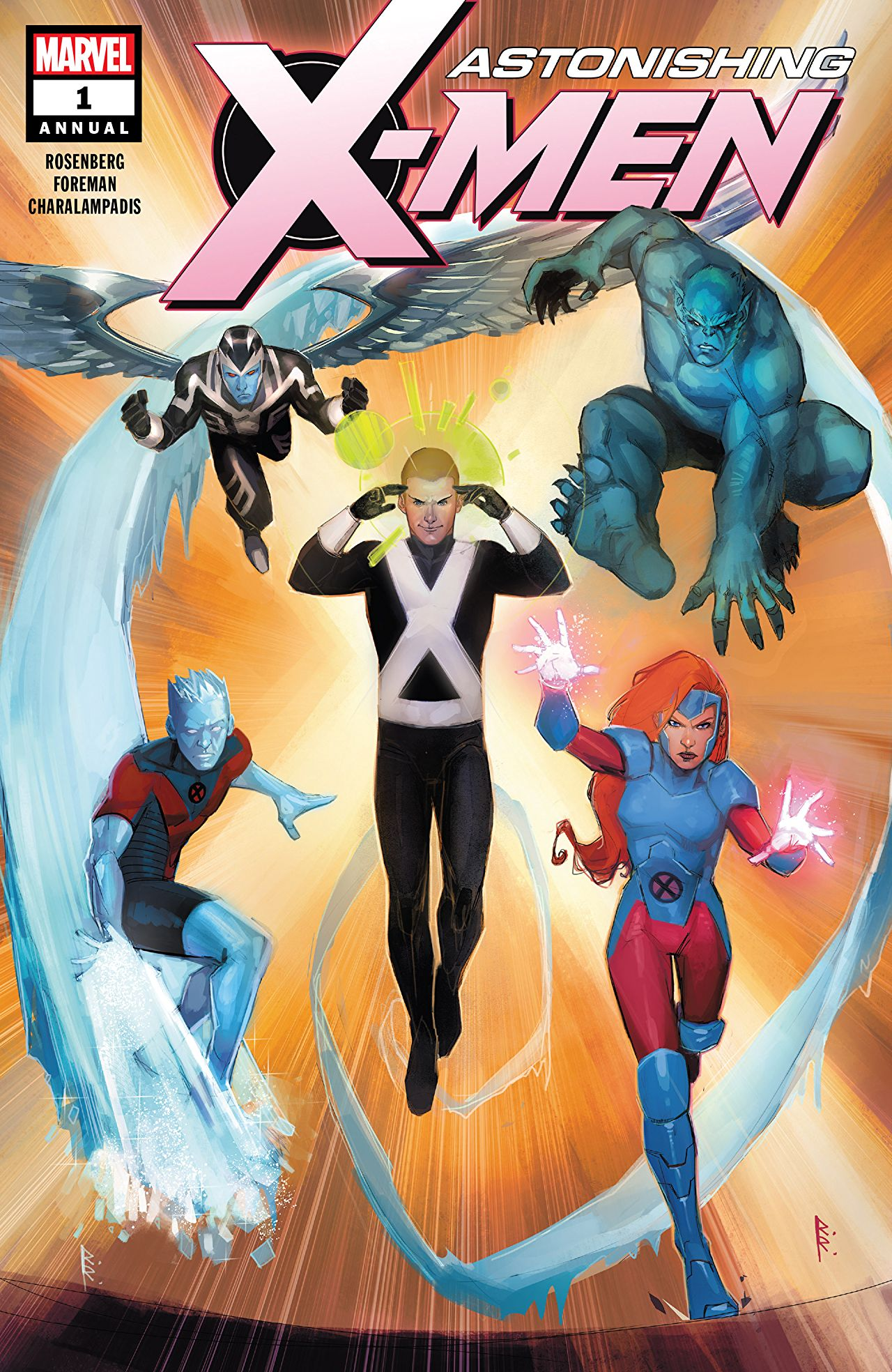 Astonishing X-Men (Vol. 4)  #1 Annual
