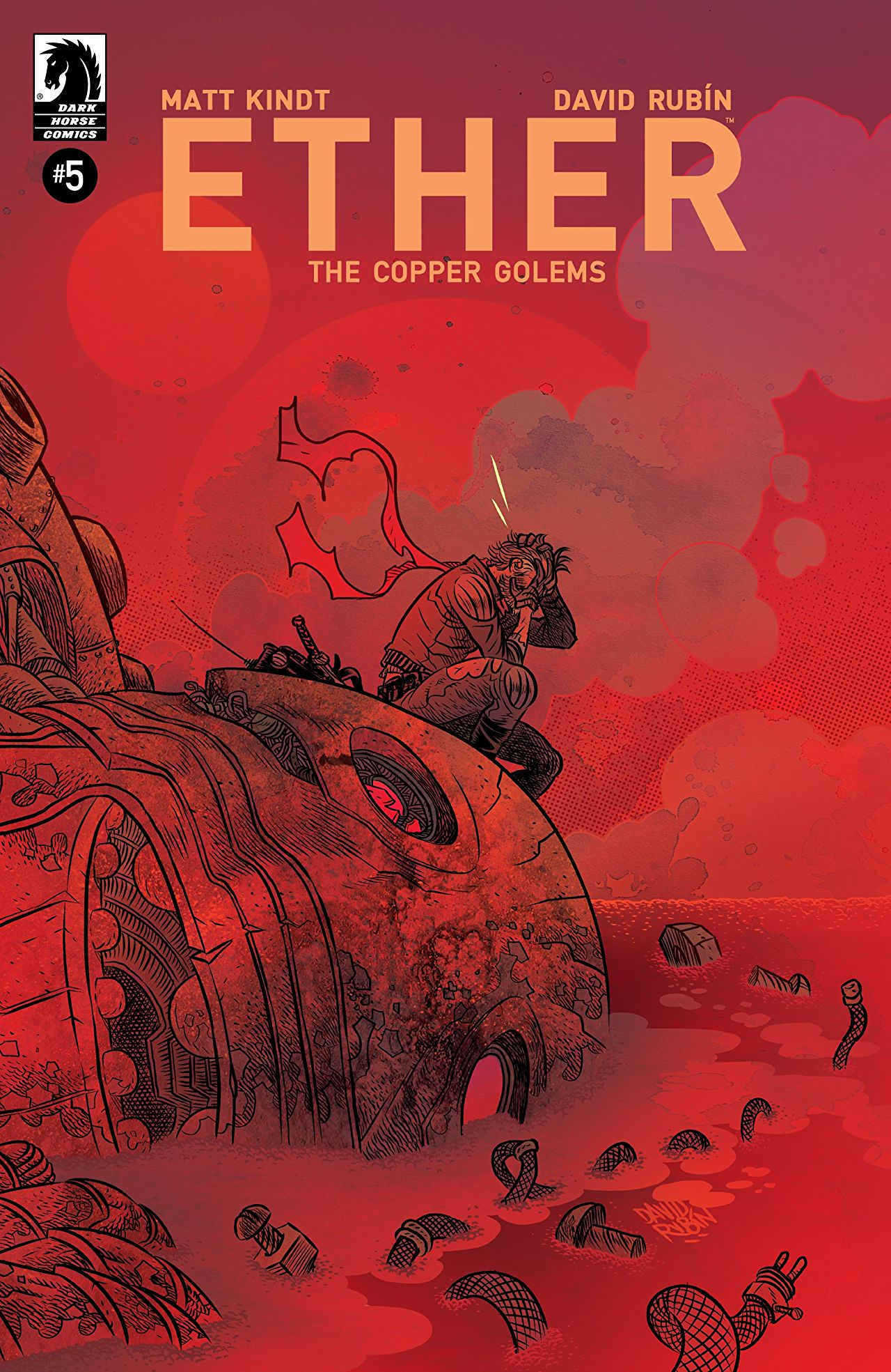 Ether: Copper Golems (5P Ms)  #5 Cover A