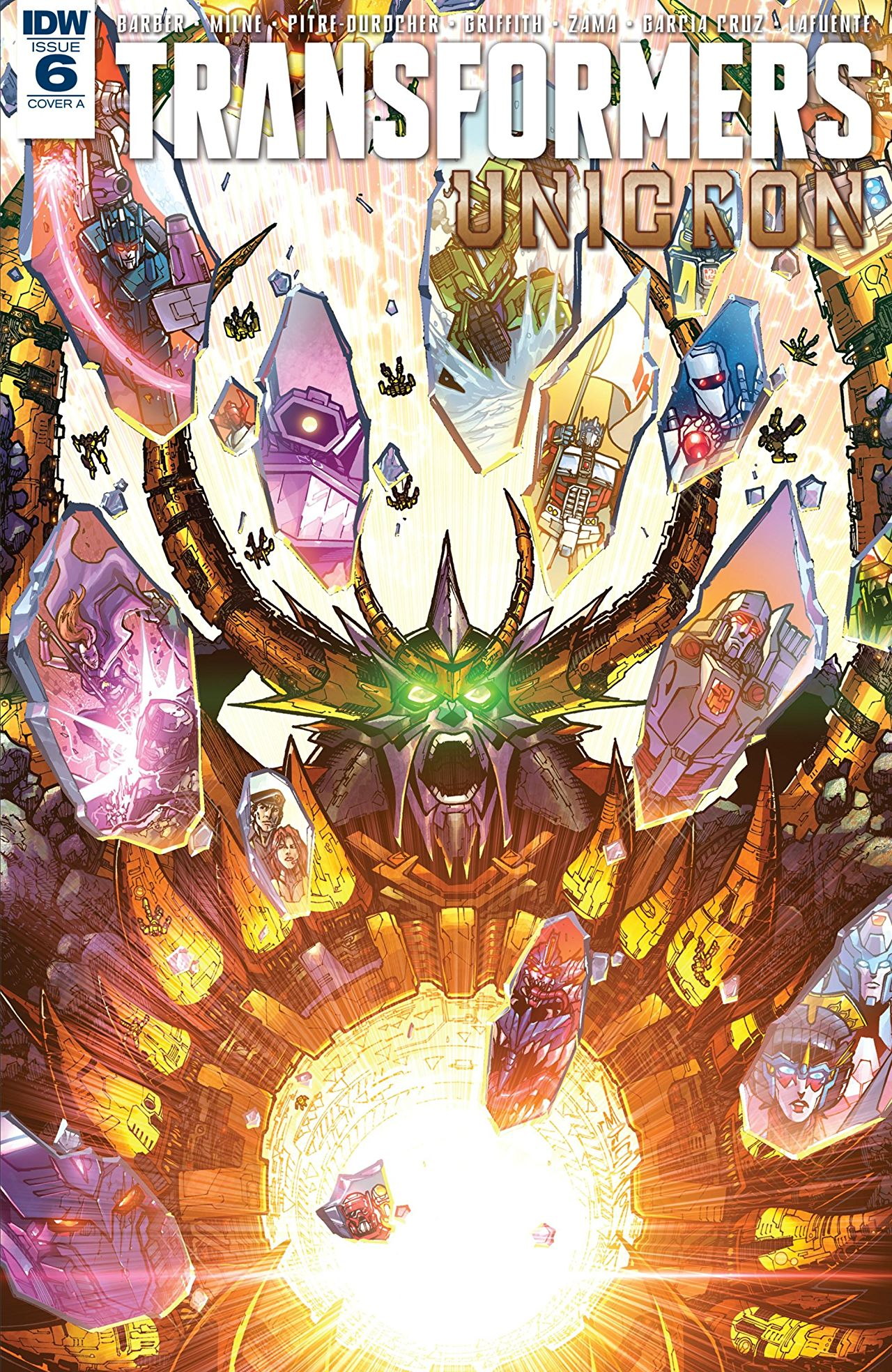 Transformers - Unicron  #6 Cover A