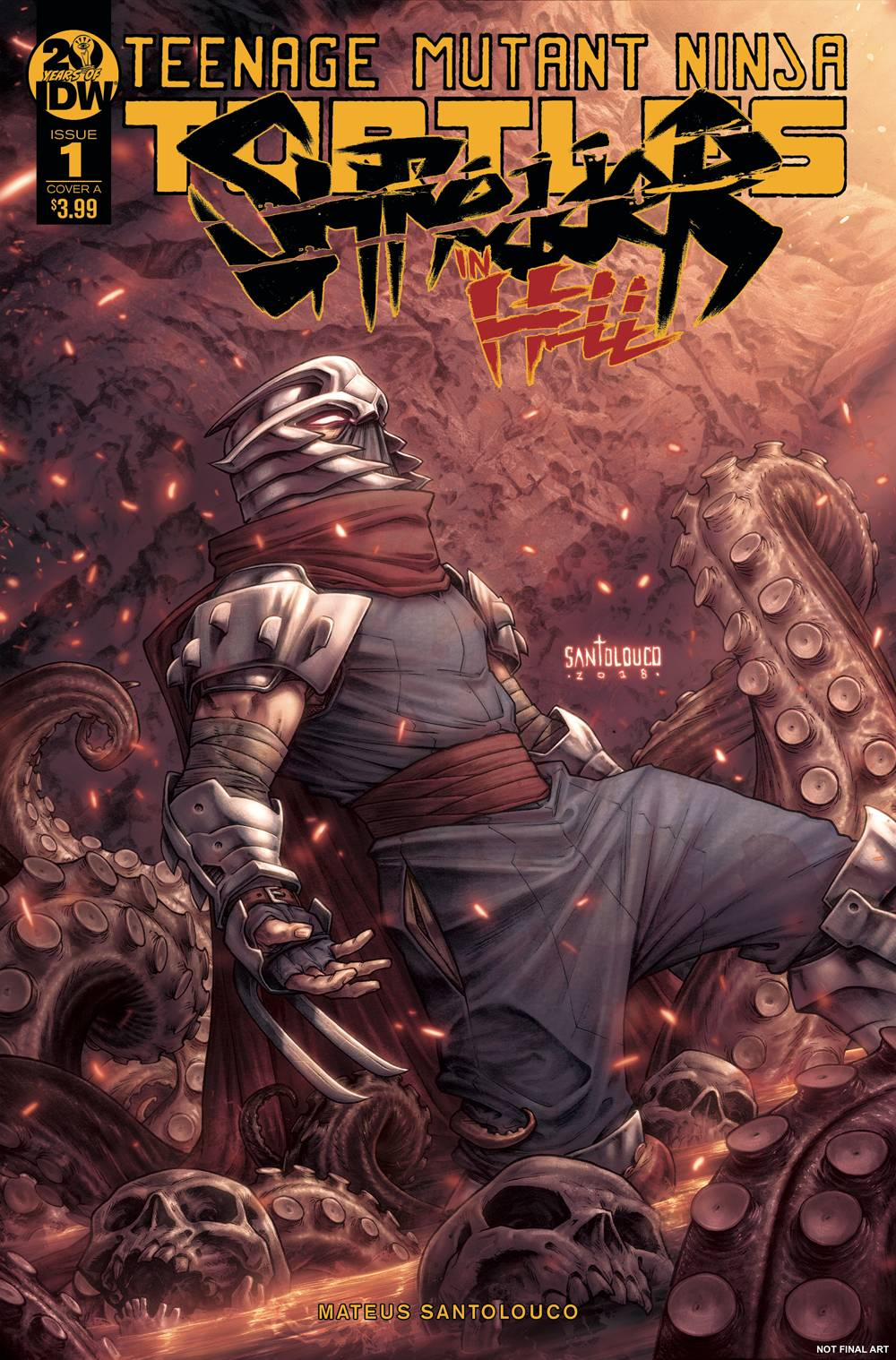 Teenage Mutant Ninja Turtles: Shredder in Hell  #1 Cover A