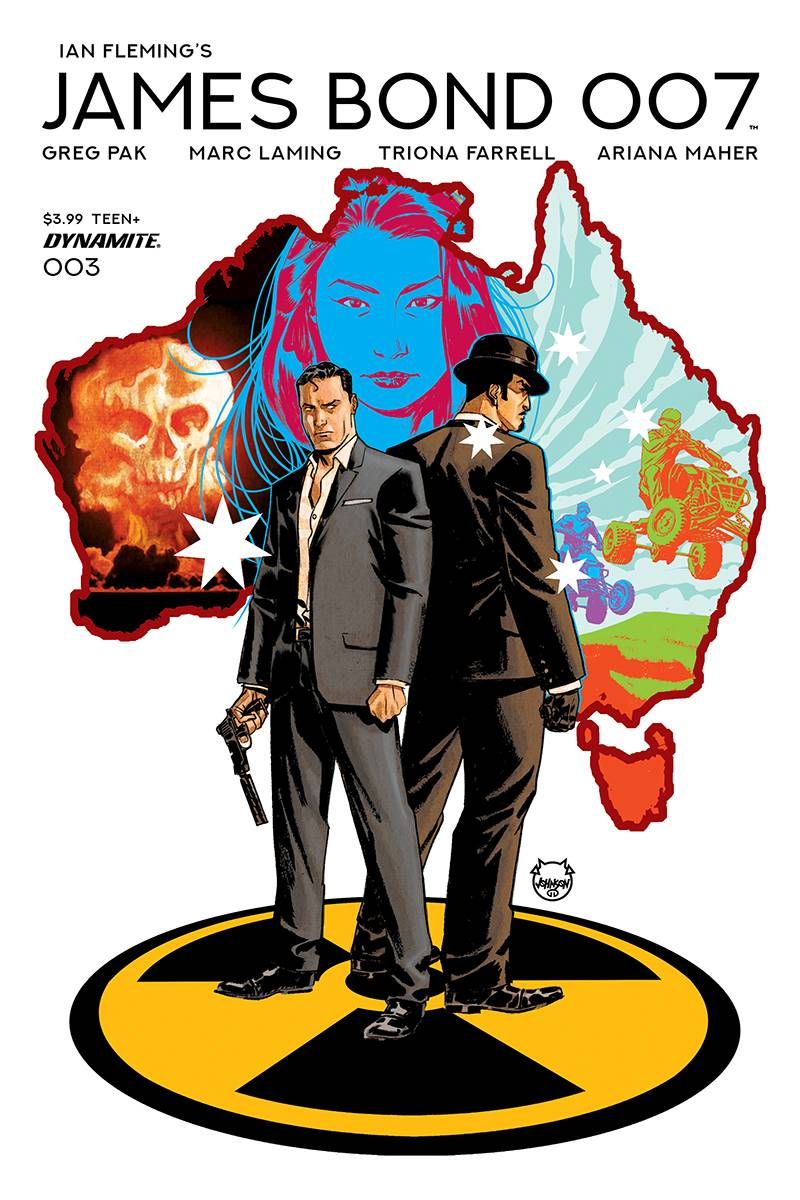 James Bond 007  #3 Cover A