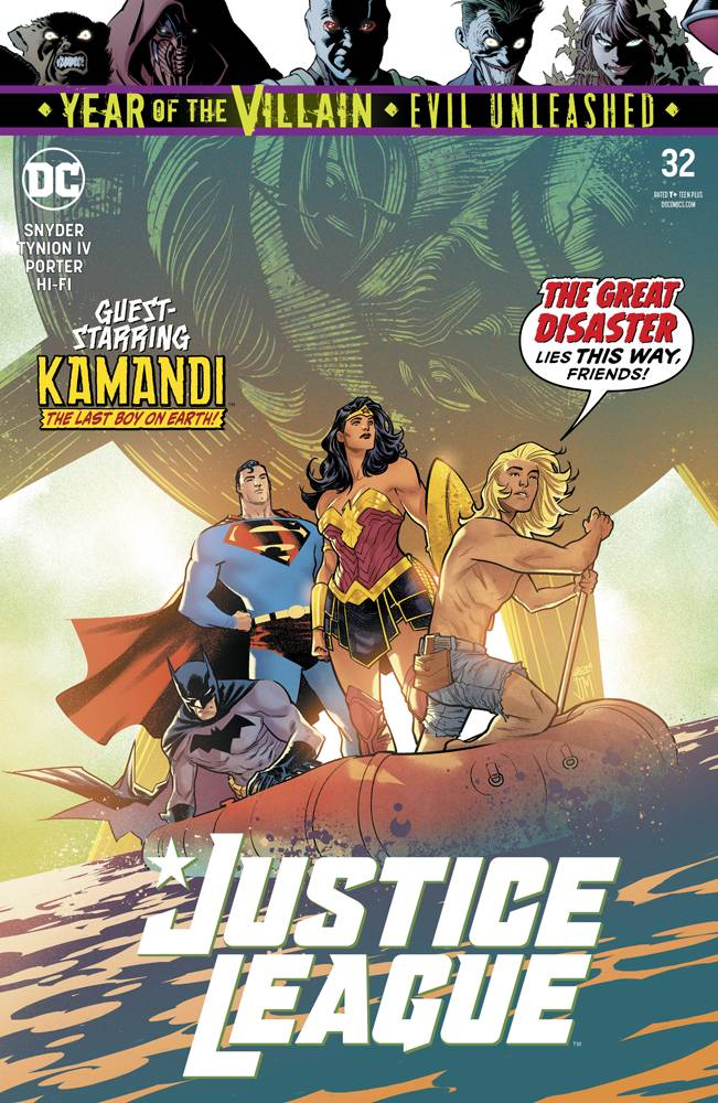 Justice League (Vol. 3)  #32