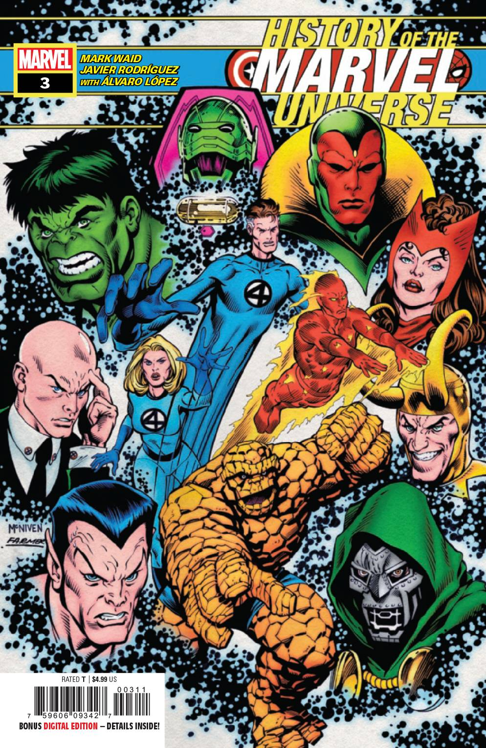 History of the Marvel Universe (6P Ms)  #3