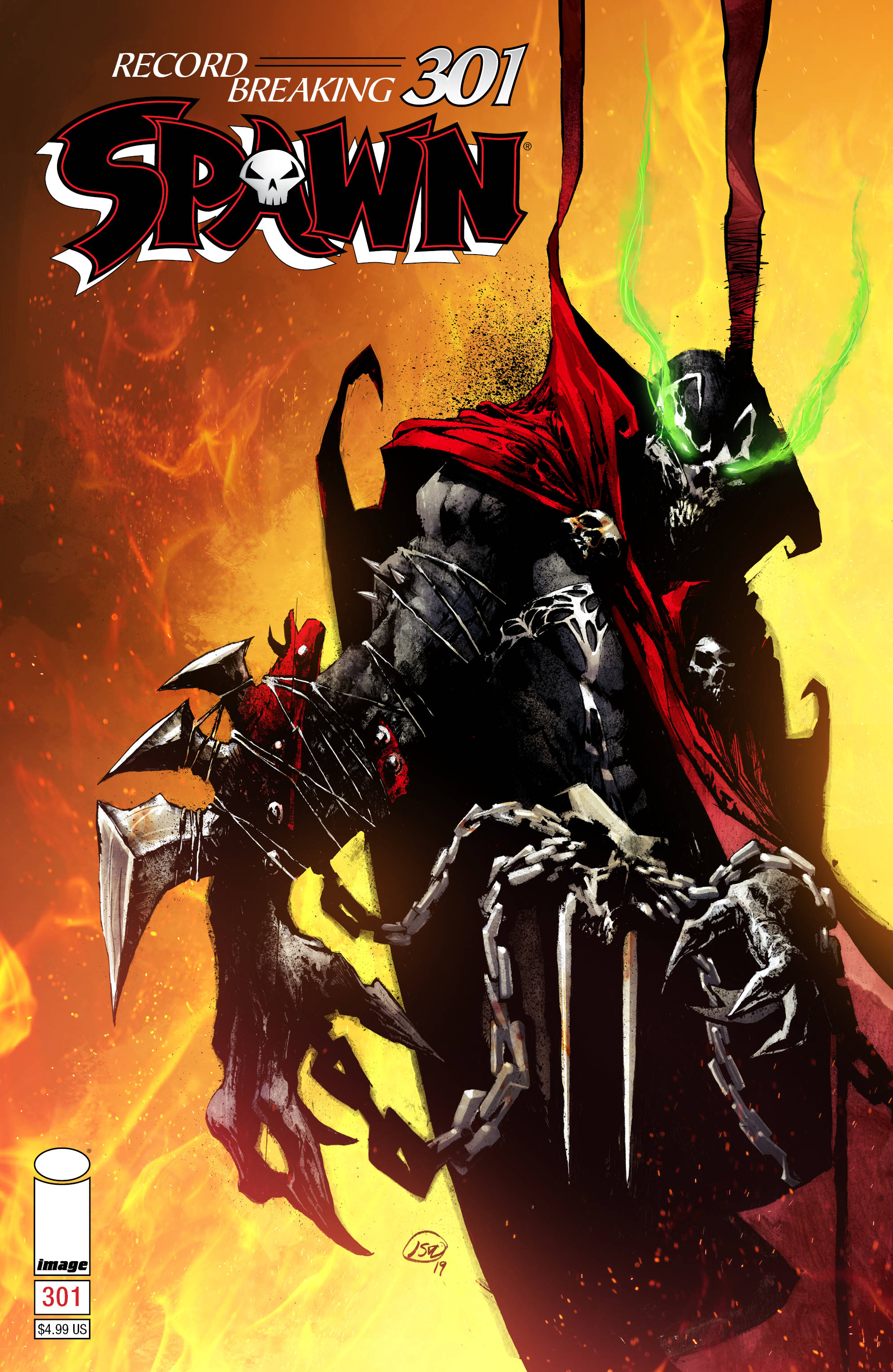 Spawn  #301 Cover D - Alexander