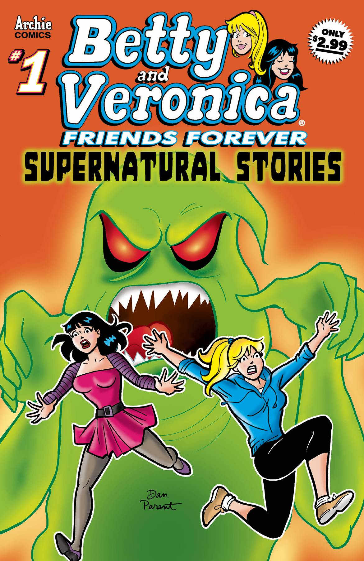 Betty and Veronica - Friends Forever  #1 - Supernatural