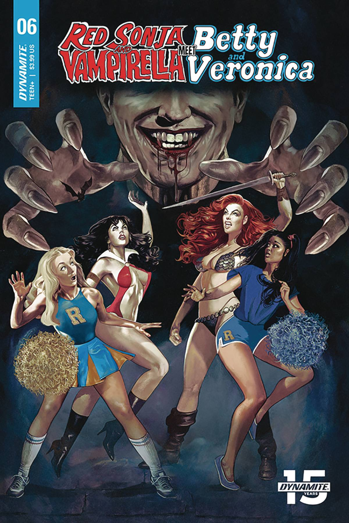 Red Sonja and Vampirella Meet Betty and Veronica  #6 Cover A