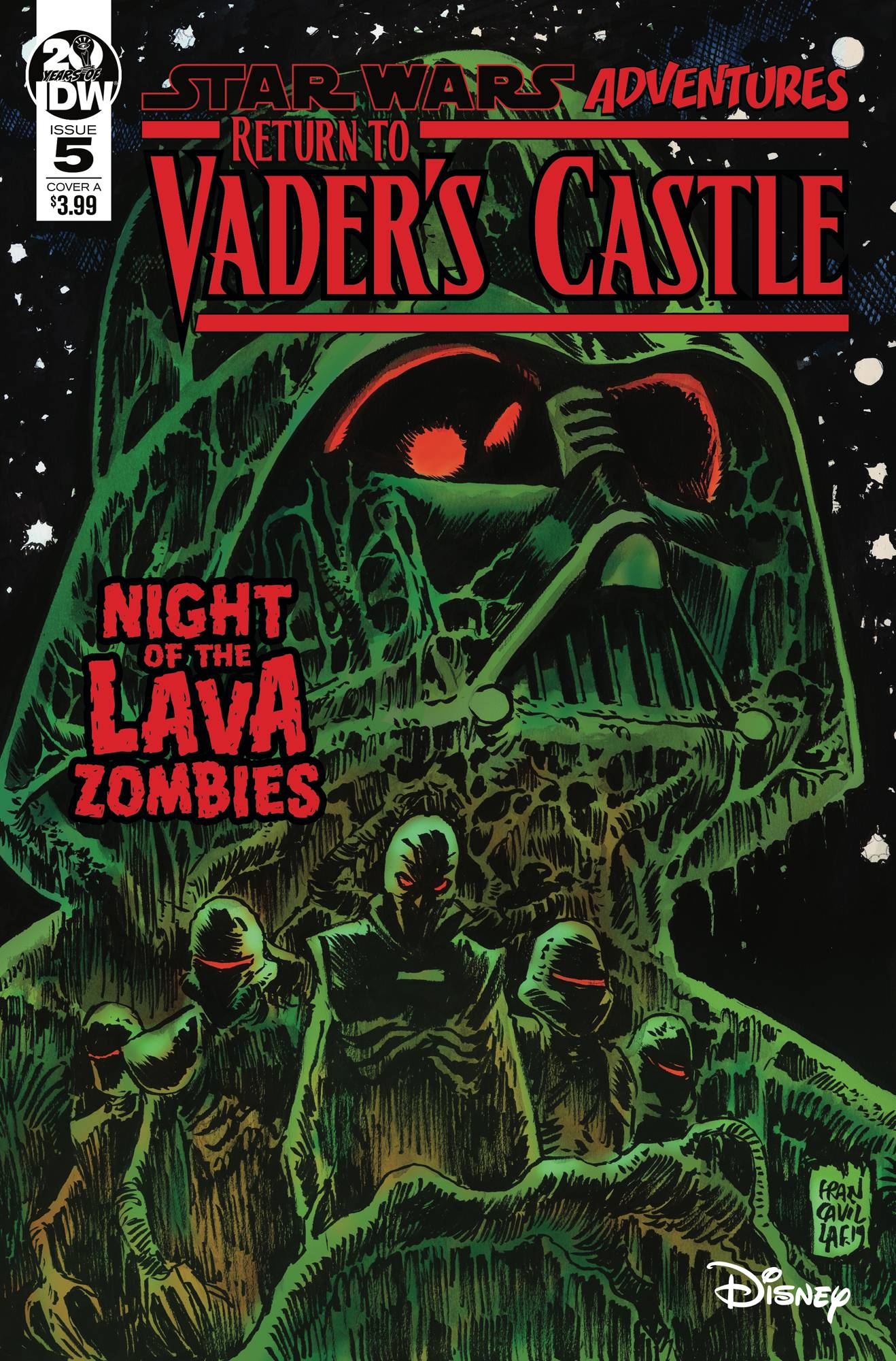 Star Wars Adventures: Return to Vaders Castle  #5 Cover A