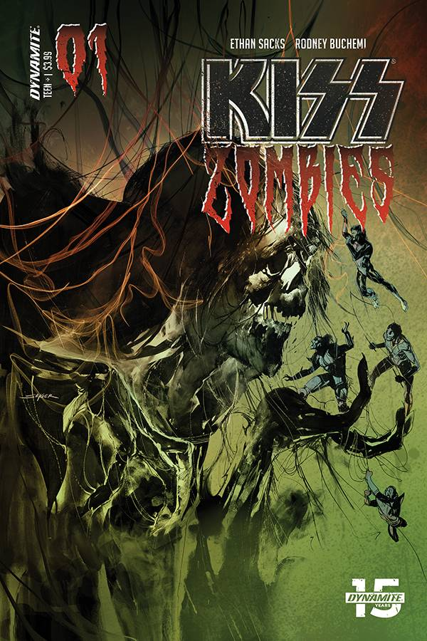 Kiss: Zombies  #1 Cover B