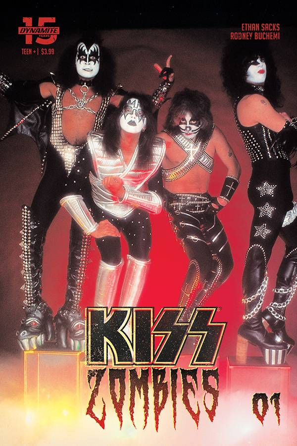 Kiss: Zombies  #1 Cover D