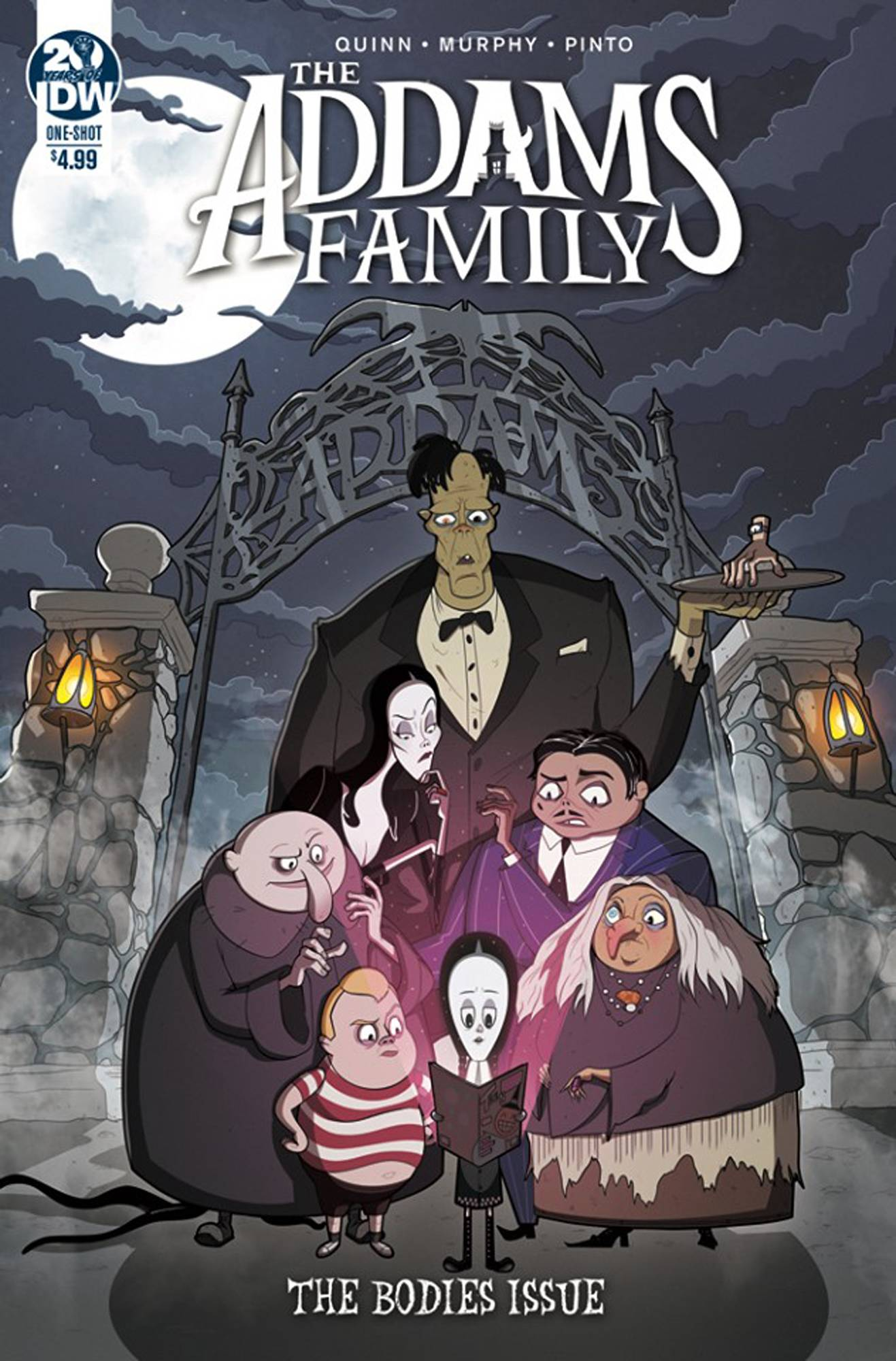 Addams Family: The Bodies Issue  #1 Cover A