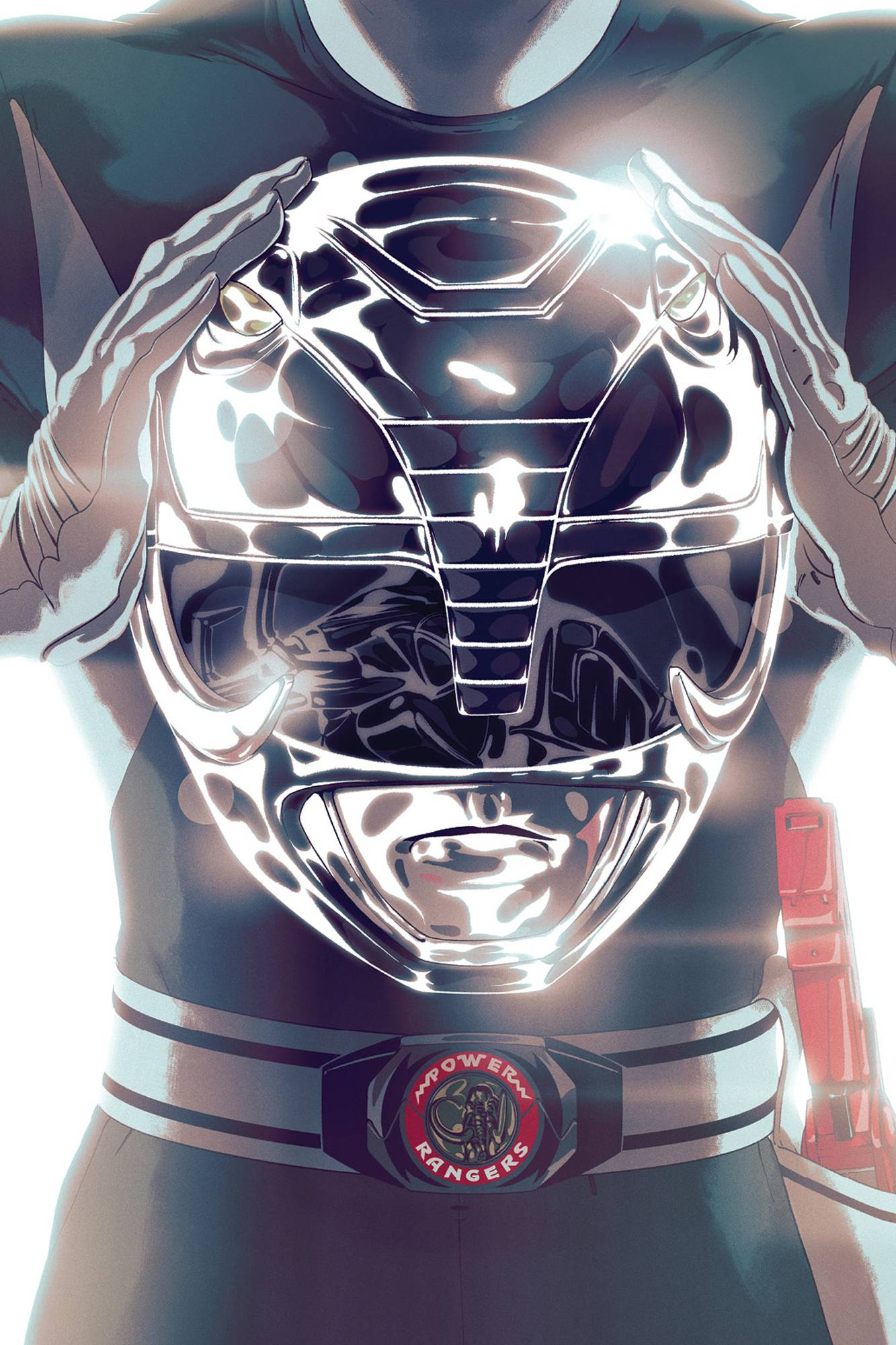 Mighty Morphin Power Rangers  #45 Foil Cover