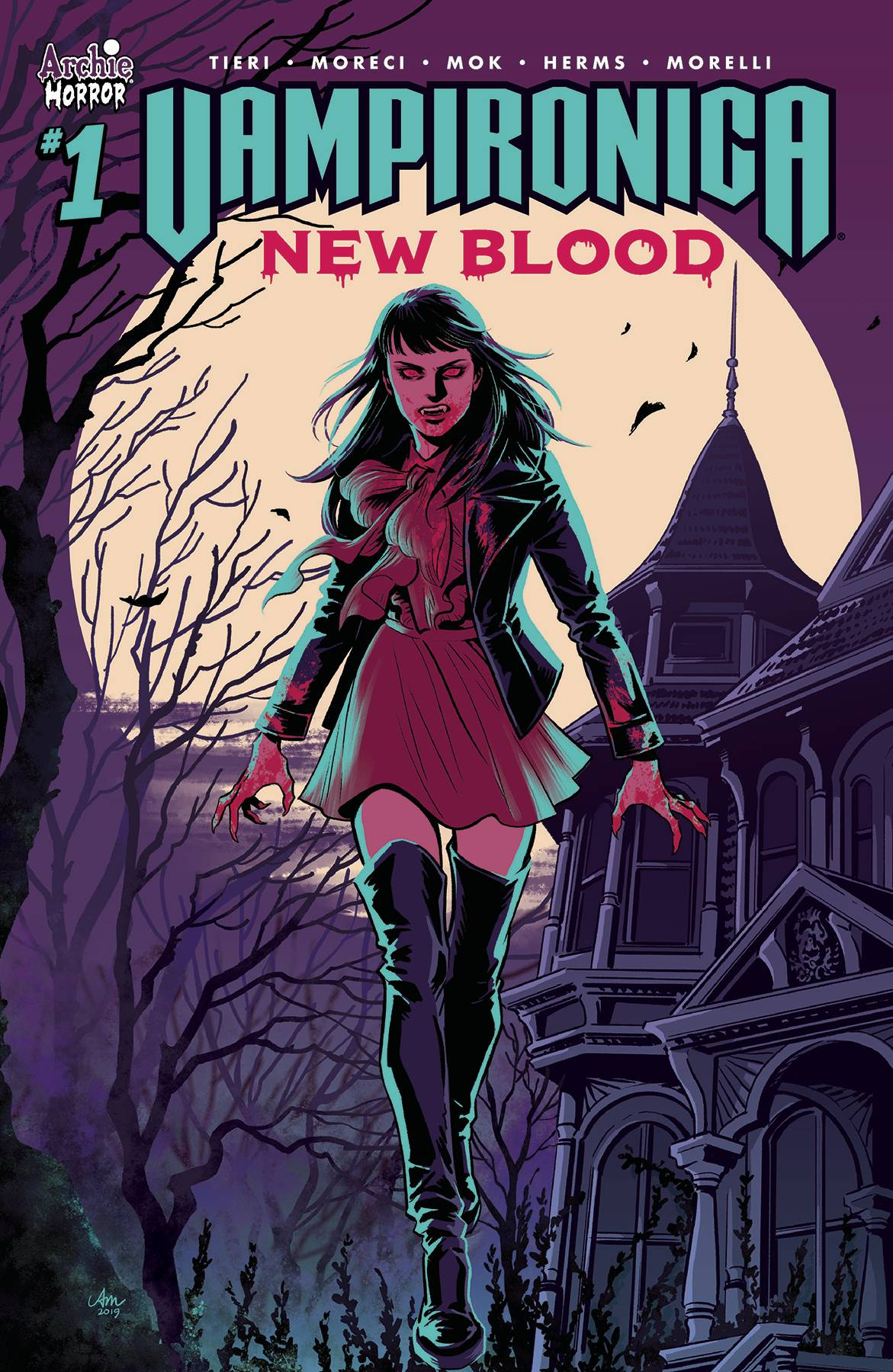 Vampironica: New Blood (5P Ms)  #1 Cover A