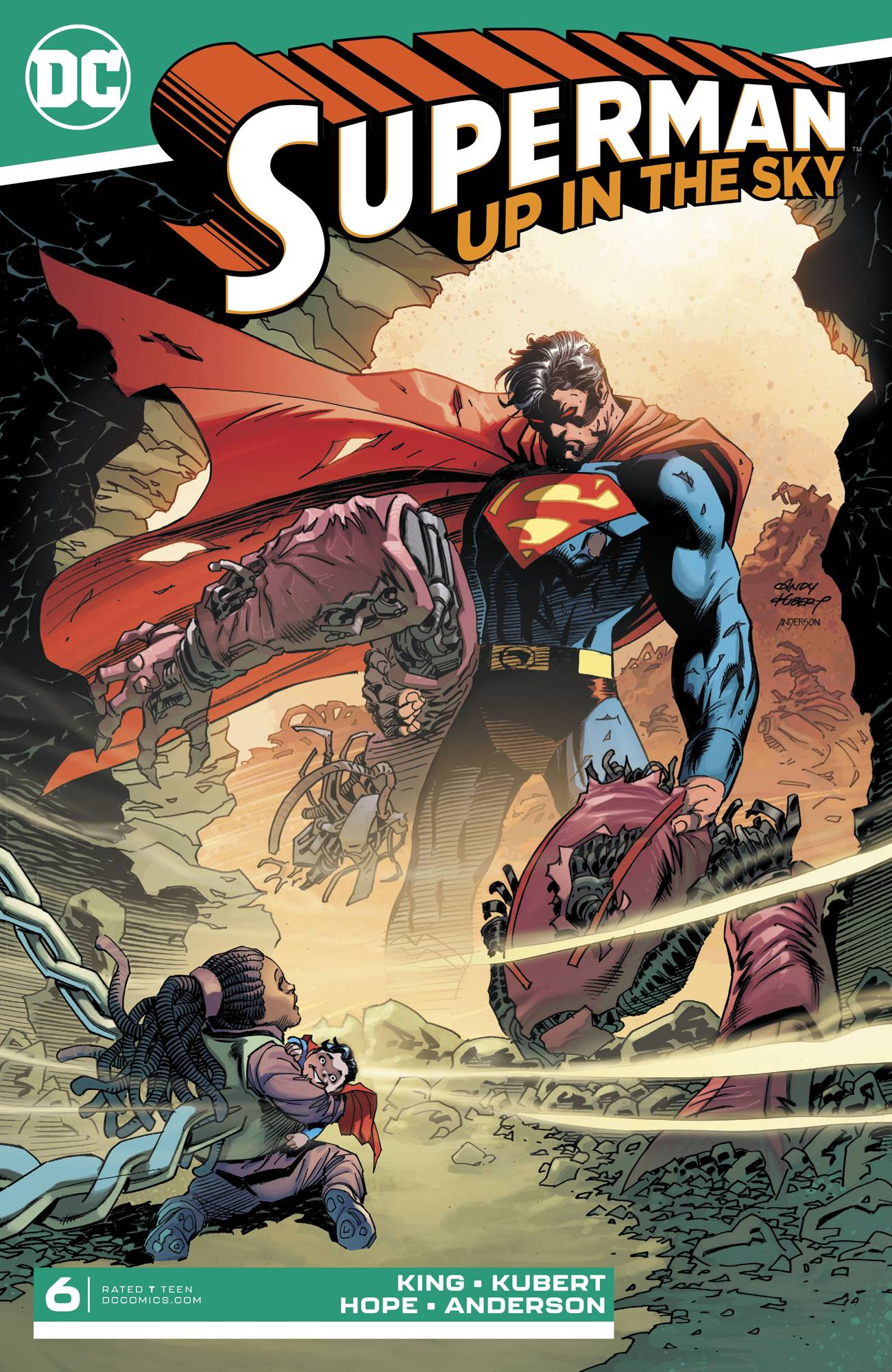 Superman: Up in the Sky (6P Ms)  #6