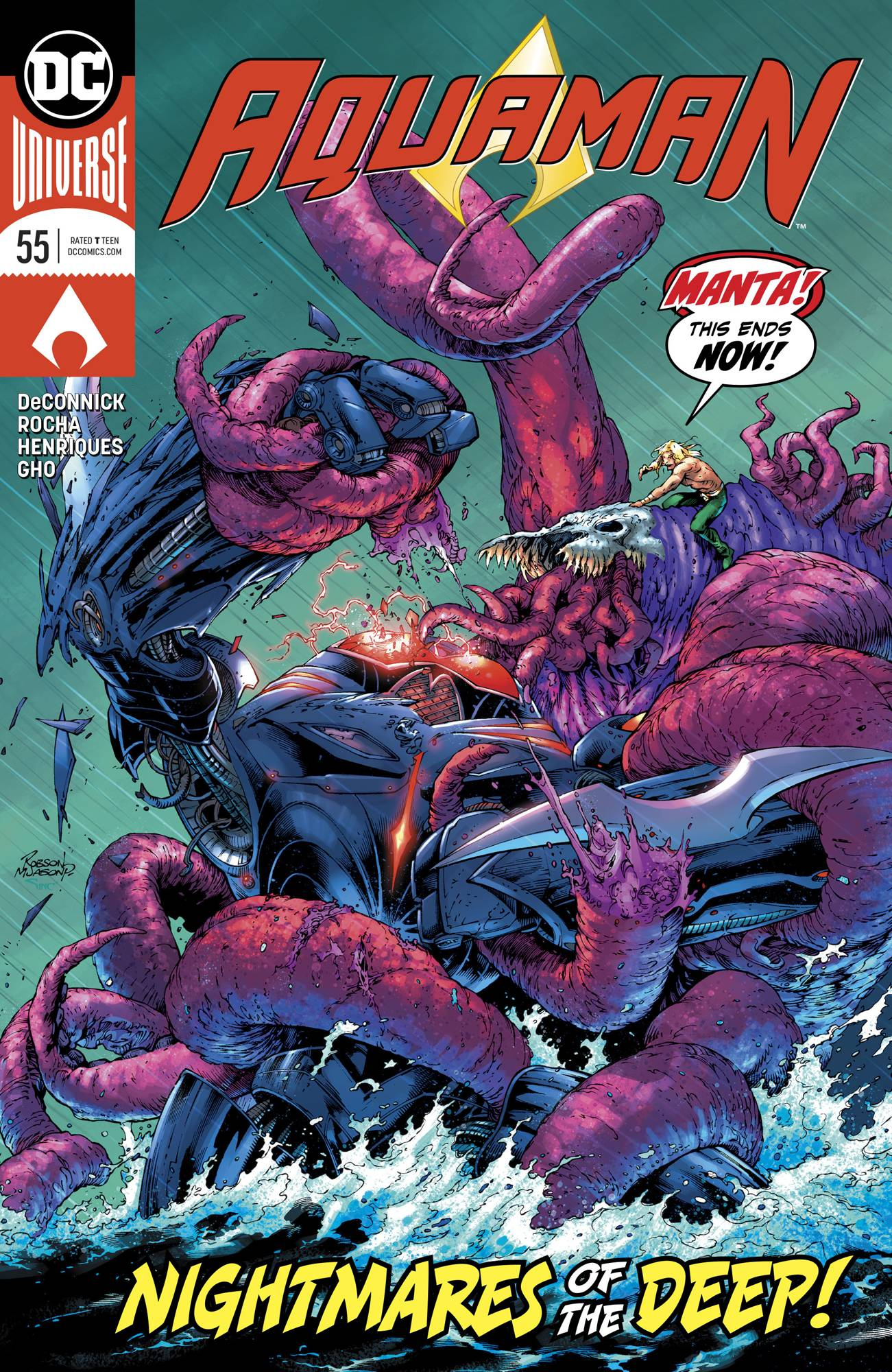 Aquaman (Vol. 8)  #55