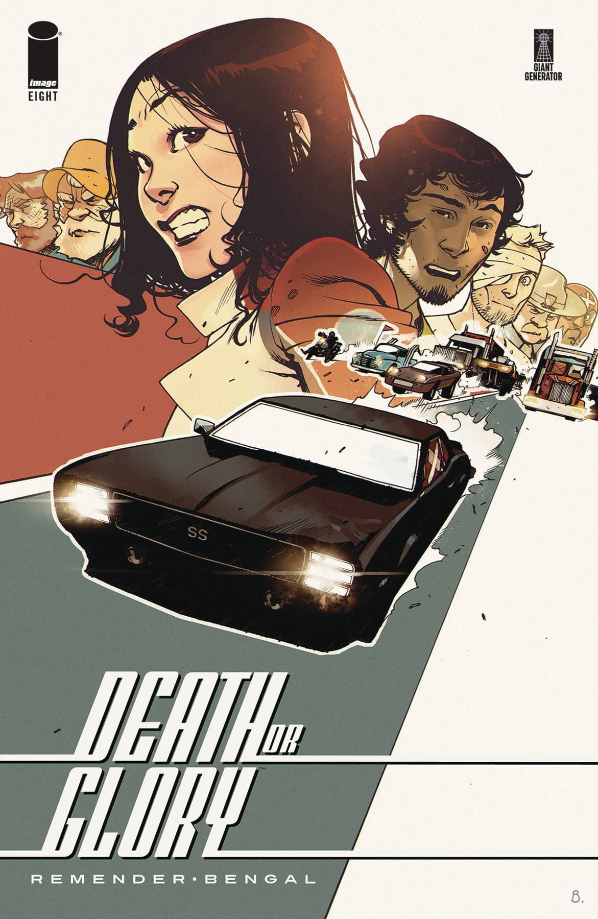 Death or Glory  #8 Cover A