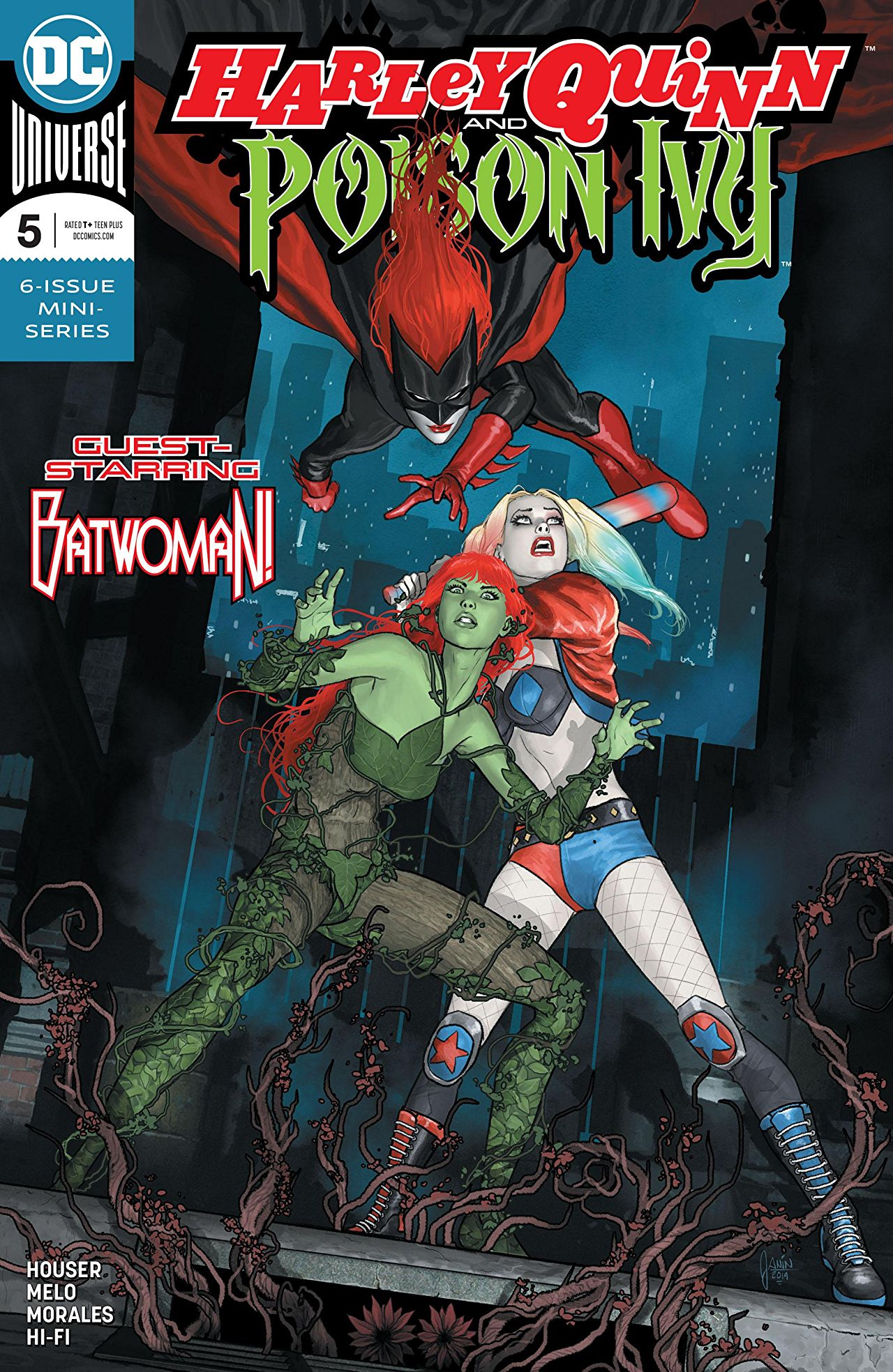 Harley Quinn and Poison Ivy (6P Ms)  #5