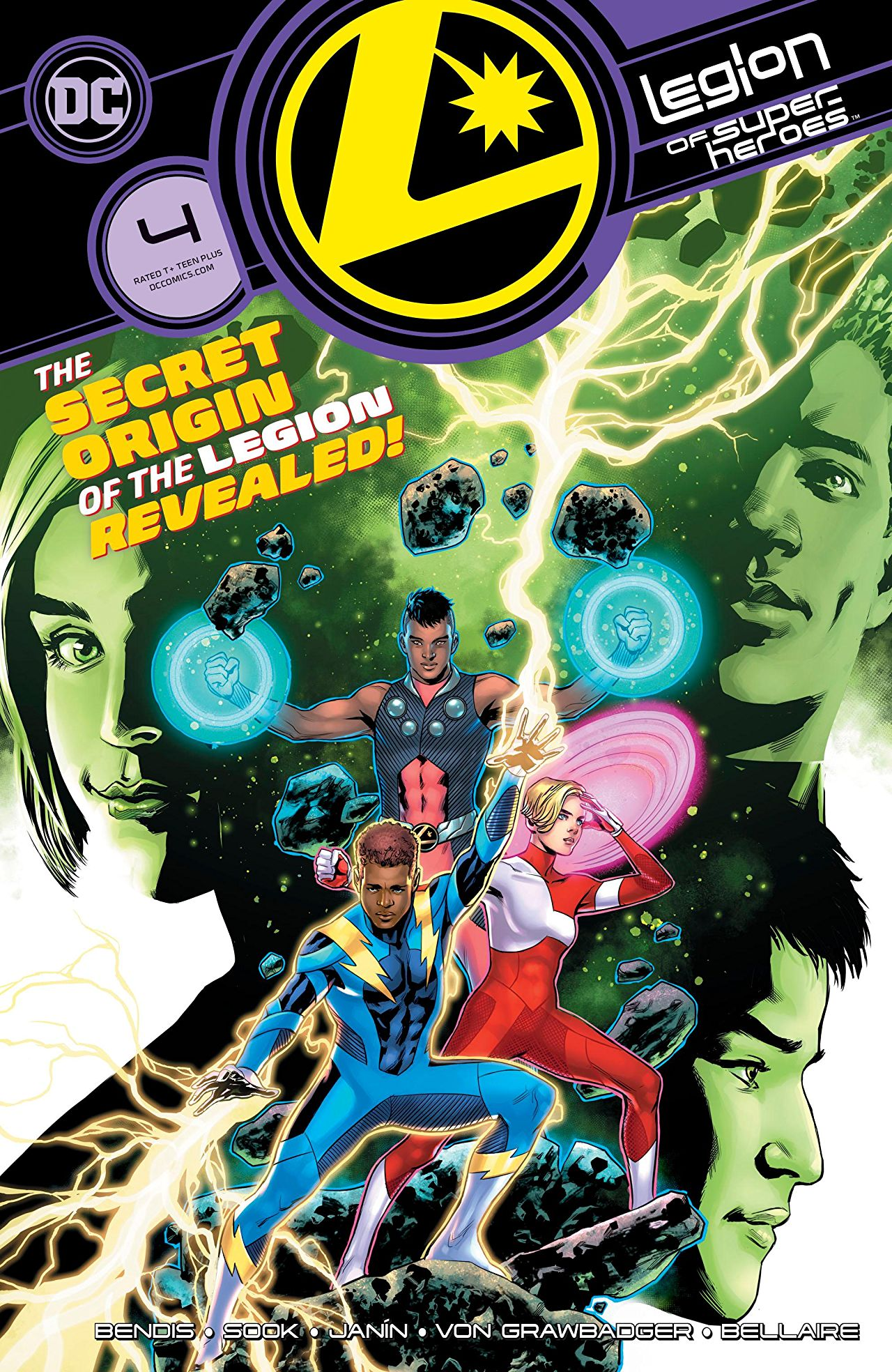 Legion of Super-Heroes (Vol. 8)  #4